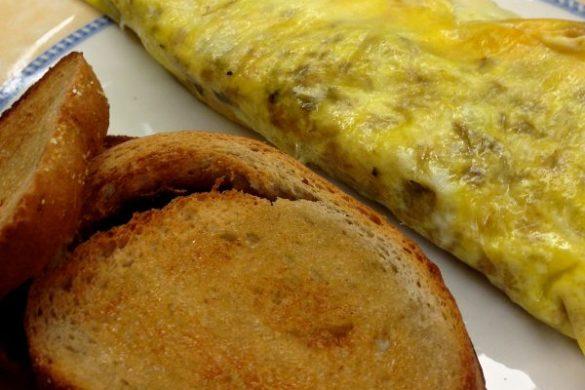 baggie omelets