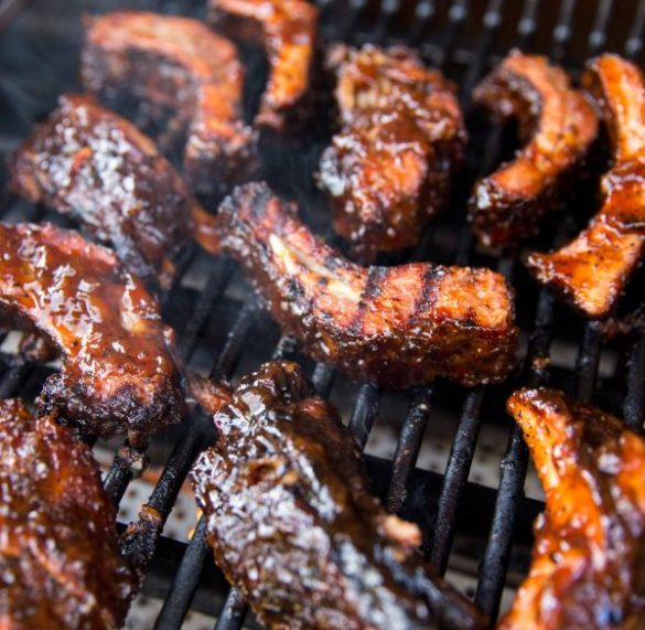 Cheater BBQ Oven Ribs