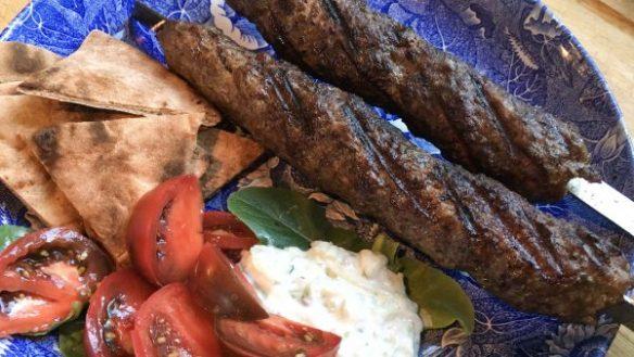 ground beef kebabs