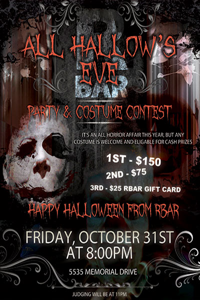 RBar Halloween Party