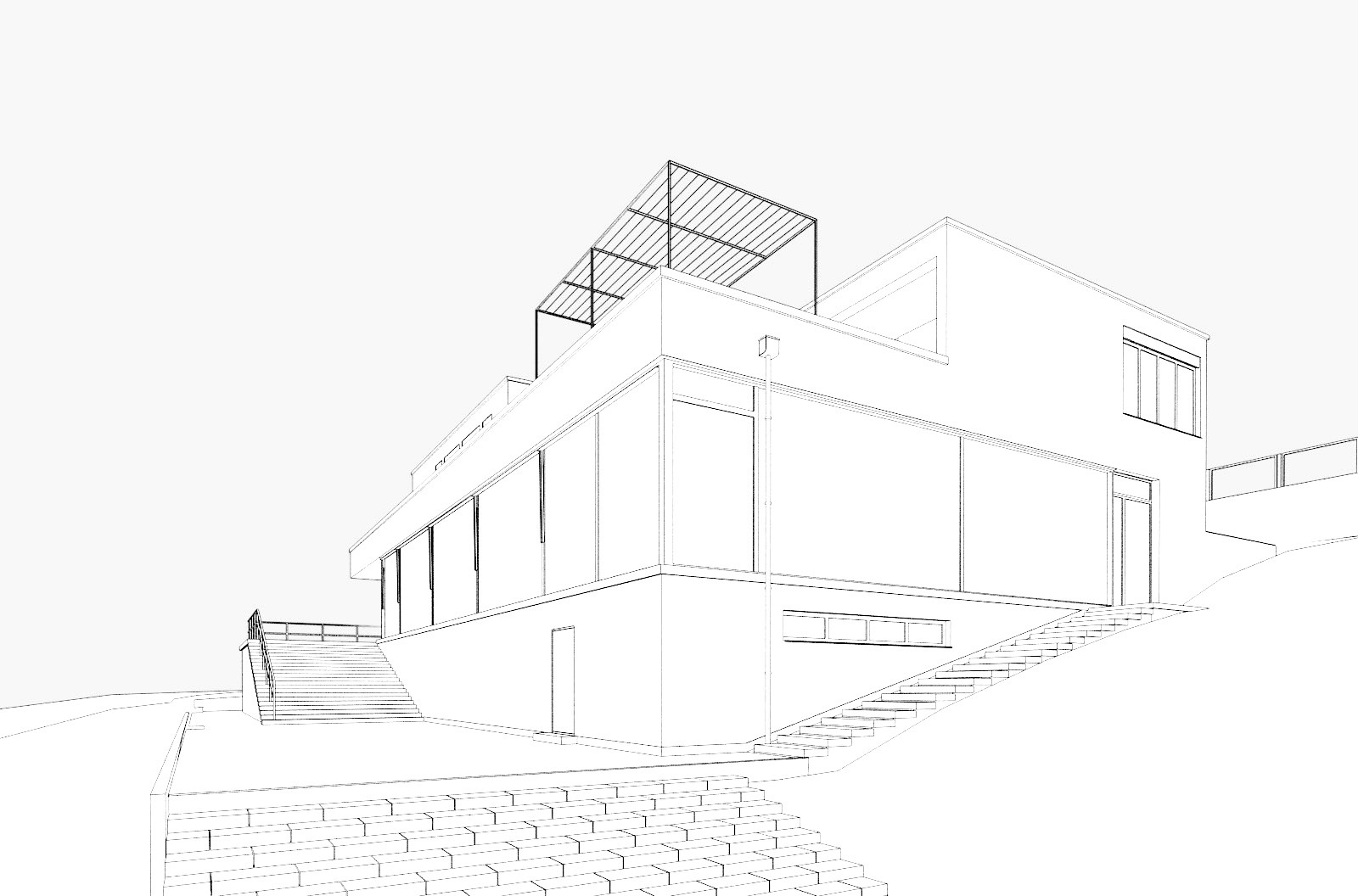 Making Of Tugendhat House By Lasse Rode Xoio