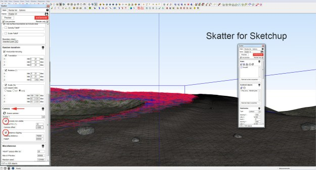 Skatter terrain - Road and Settings - 3 copy