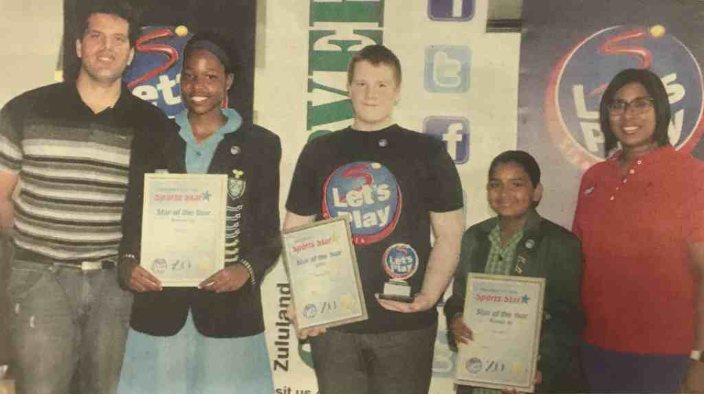 Richards Bay Christian School (RBCS) student Hanré Leibbrandt was announced as the 2018 Zululand SuperSports Let's Play Super Star