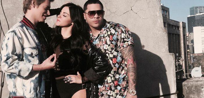 Maite Perroni grava videoclipe de novo single com Carlos Baute