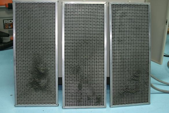 dirty air filters