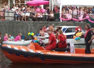 Reddingsbrigade Dordrecht Beveiliging Canal Pride Amsterdam