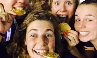 Huldiging medaillewinnaars WK Lifesaving