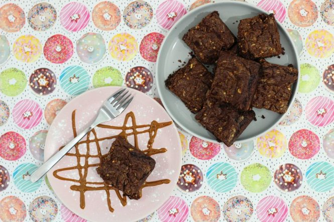 Vegan Peanut Butter Brownies