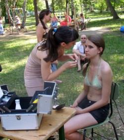 восточный макияж