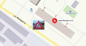 В Новосибирске на ул. Молодости сбили женщину, водитель скрылся