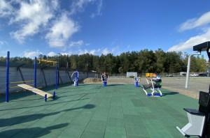 В Советском районе Новосибирска появилась новая детская спортивная площадка