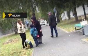 Новосибирский СК проверит мать, пнувшую сына ногой в живот у спортклуба «Первомаец»