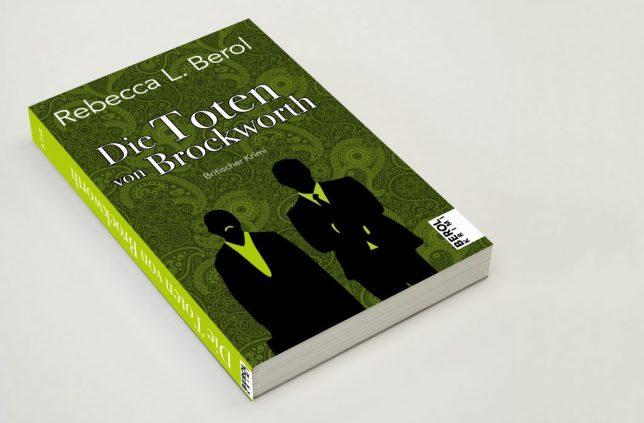 """Das grüne Cover von """"Die Toten von Brockworth"""" – britische Krimis"""