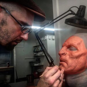 John Wrightson sculpting for RBFX