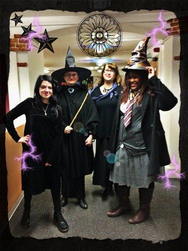 Magic - Harry Potter Book Night at North Kensington Library, February 2015