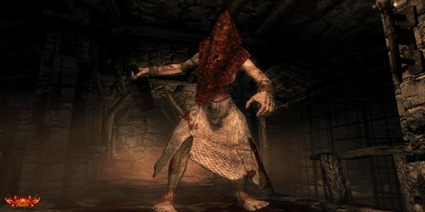 silent hill pyramid head gameplay