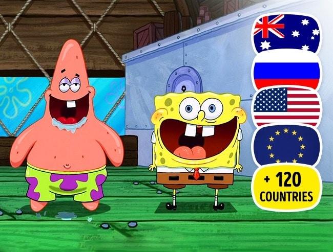 Phim hoạt hình Sponge Bob