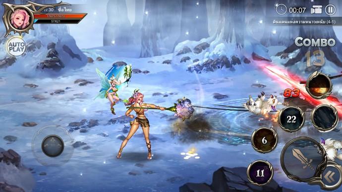 lớp nhân vật game Dragon Spear