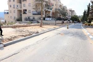 רחוב הרצוג בבית שמש טרם שיפוצו