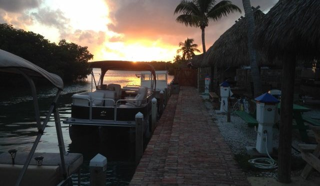 Sunset on Geiger Key