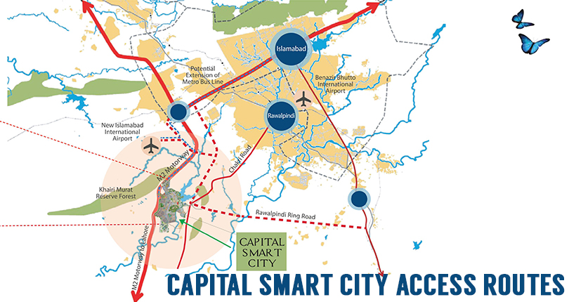 Capital Smart City Access Routes