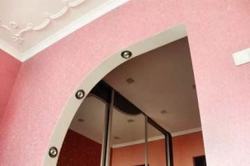 Делаем арку из гипсокартона своими руками Подробнее: http://srbu.ru/stroitelnye-raboty/177-arka-iz-gipsokartona-svoimi-rukami.html