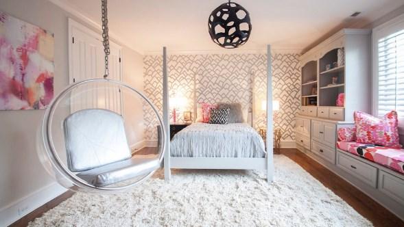 оформить комнату для девушки