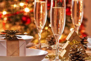 выбор шампанского на рождество