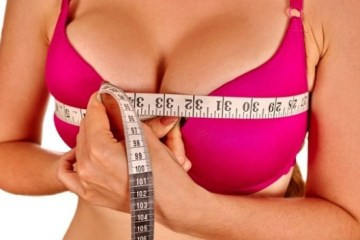 The optimum size of the female breast