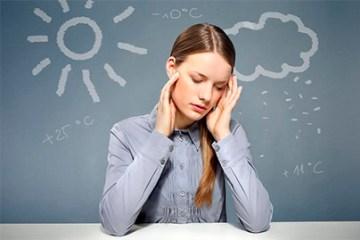 Метеозалежність як погода впливає на наше самопочуття