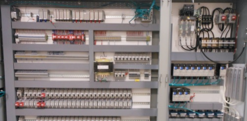 Image of an electrical panel