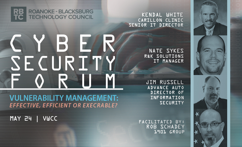 Cyber Security Forum: Vulnerability Management – May 24