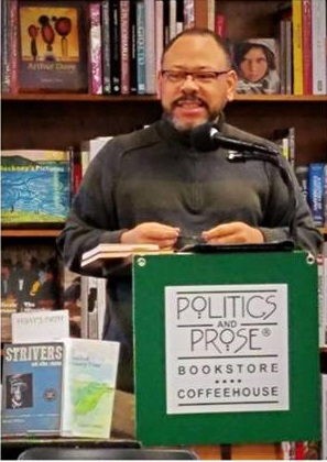 Robert J Williams reading from Strivers and Other Stories at Politics and Prose, Washington, DC