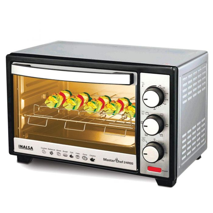 inalsa 24 litres oven toaster grill master chef 24rss
