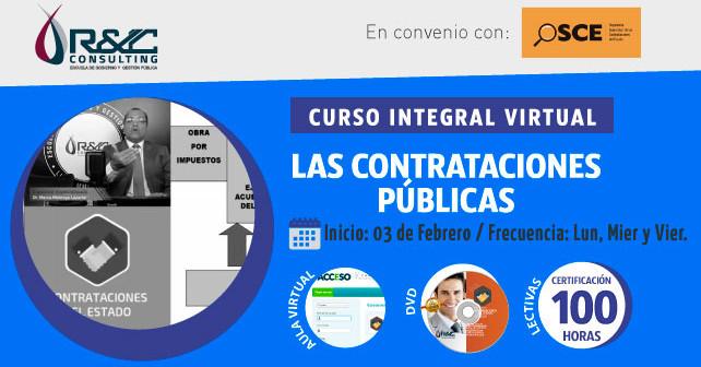 Las Contrataciones Publicas   OSCE   Curso Integral Virtual