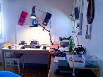Meine kleine Modellbau Werkstatt - My little RC Workbench