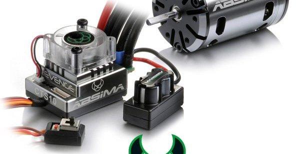 Neuer Hochleistungs- Fahrtenregler & Brushlessmotoren von Absima