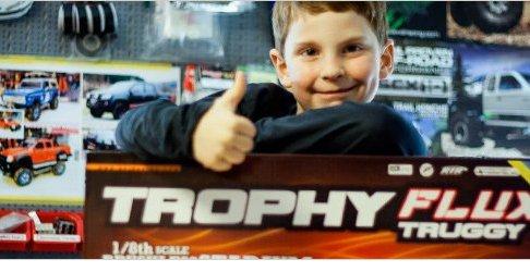 HPI Trophy Truggy Flux – Unboxing & 1. Testfahrt 1