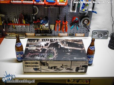 Sawback GS-01 Kit inkl. Stärkung