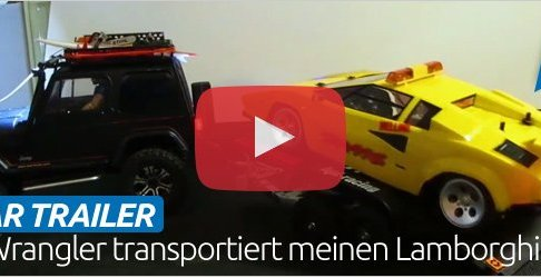 RC Car Trailer Build - Modellbau Autotransporter mit Kipp-Funktion