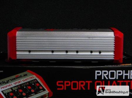 Rückseite mit Kühlrippen - Dynamite Prophet Sport Quattro