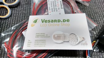 Ich habe LED's von Vesard.de verbaut