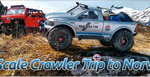 RC Scale Crawler Adventure in Norwegen