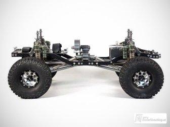 Hochwertiges Chassis aus Carbon und Aluminium