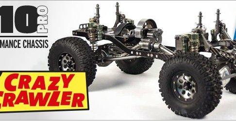 TFL T-10 pro - Scale Crawler Chassis aus Carbon und hochwertigem Aluminium -