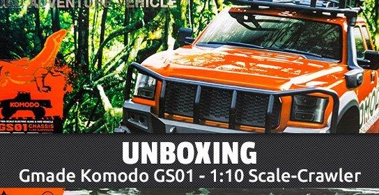 Gmade Komodo 1:10 Scale-Crawler - Unboxing
