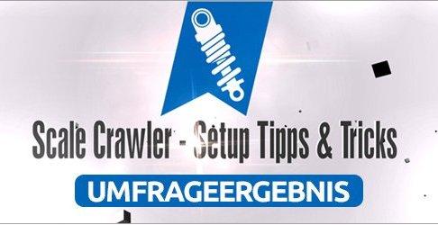 Umfrageergebnis: Scale Crawler - Setup Tipps & Tricks 1