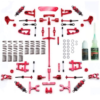 "Lieferumfang - Yeah Racing ""Aluminum Conversion - Ultimate Kit"""