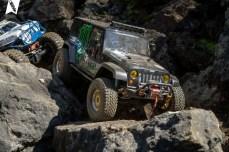 Vorallem auf Fels haben sich die Pro-Line BFGoodrich KO2 Reifen wohlgefühlt.