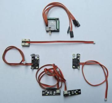 EasyBus Lichtanlage TAMIYA MAN TGX 18.540 und TGX 26.540